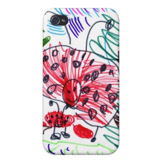 Ladybug Big, Ladybug Small, Ladybug Egg. iPhone 4 Covers