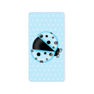 Ladybug Birthday Hershey Miniature Candy Wrapper Label