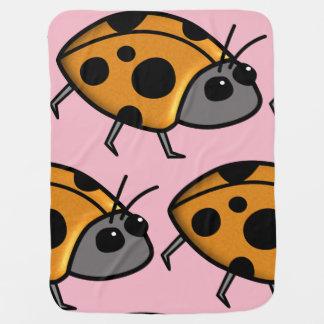 Ladybug Blanket for Kids