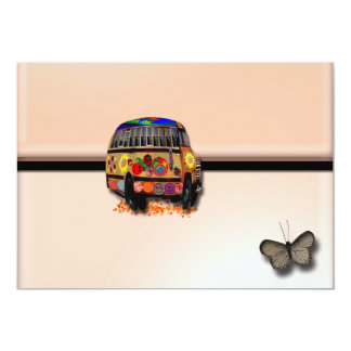 Ladybug Bus Envelope invitation