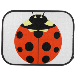 ladybug car mat