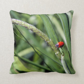 Ladybug (Coccinellidae) Throw Pillow