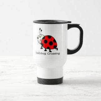 Ladybug Crossing Travel Mug
