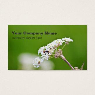 Ladybug Custom Business Cards