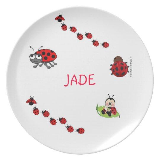 Ladybug Dinner Plate
