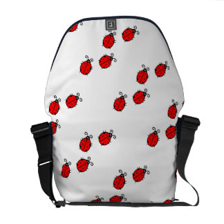 Ladybug dot Animal Office Custom Destiny Destiny'S Courier Bag