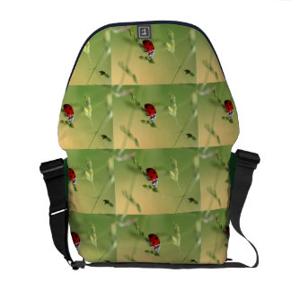 Ladybug dot Animal Office Custom Destiny Destiny'S Courier Bags