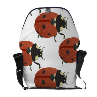 Ladybug dot Animal Office Custom Destiny Destiny'S Messenger Bags