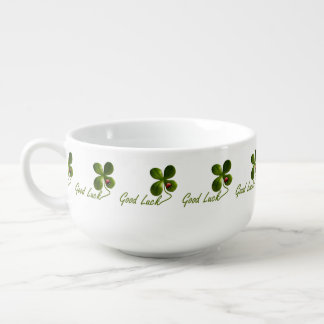 Ladybug dot Luck Clover Office Destiny Destiny'S Soup Mug