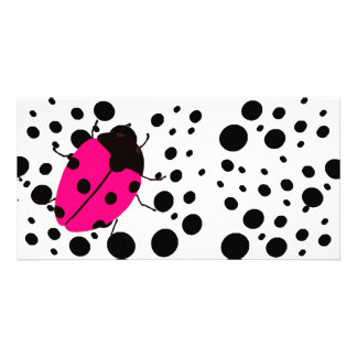 Ladybug Dots Picture Card