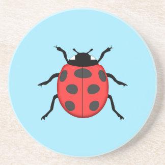 Ladybug Drink Coasters