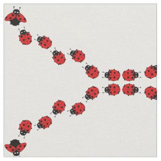 Ladybug fabric