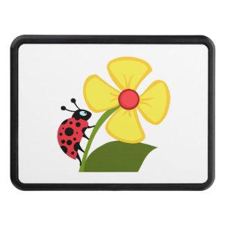 Ladybug Flower Trailer Hitch Cover