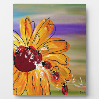 LADYBUG FOLLOW THE LEADER PLAQUE