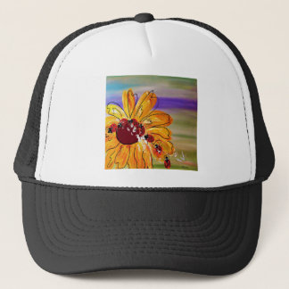 LADYBUG FOLLOW THE LEADER TRUCKER HAT