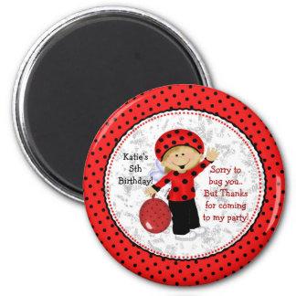 Ladybug Fridge Magnet