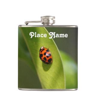 Ladybug Hip Flask
