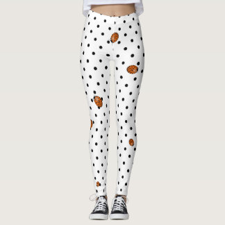 Ladybug in orange leggings