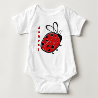 Ladybug Infant Creeper Customizable