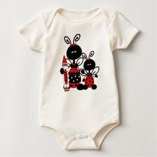 Ladybug Infant Organic Creeper