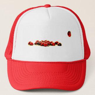 ladybug invasion trucker hat