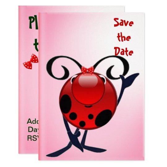 Ladybug invite