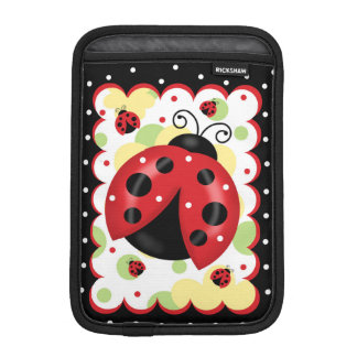 Ladybug iPad Mini Vertical Sleeve iPad Mini Sleeve