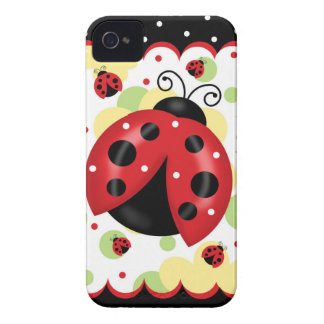 Ladybug iPhone 4 Barely There Case