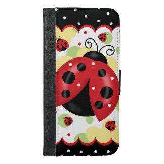 Ladybug iPhone 6/6S Plus Wallet Case