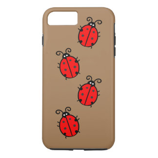 Ladybug iPhone 7 Plus, Tough iPhone 7 Plus Case