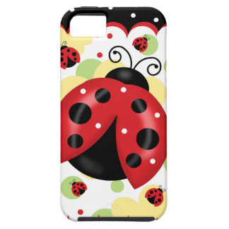 Ladybug iPhone SE and 5/5S Tough Case