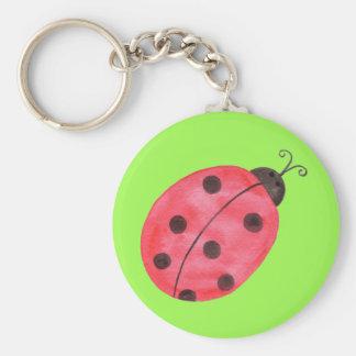 Ladybug Keyring