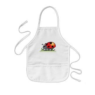 Ladybug Kids Apron