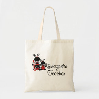 Ladybug Kindergarten Teacher's Tote Bag