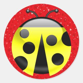 Ladybug Kitchen Sticker - SRF