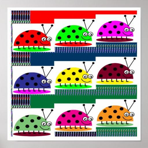 LadyBug Lady Bug Insect Colorful Kids choice GIFTS Print