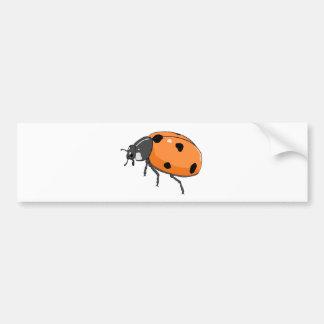 Ladybug/Ladybird Beetle Bumper Sticker