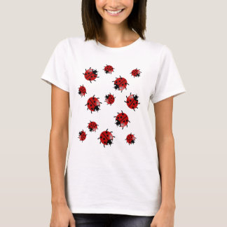 Ladybug, Ladybird cascade T-Shirt