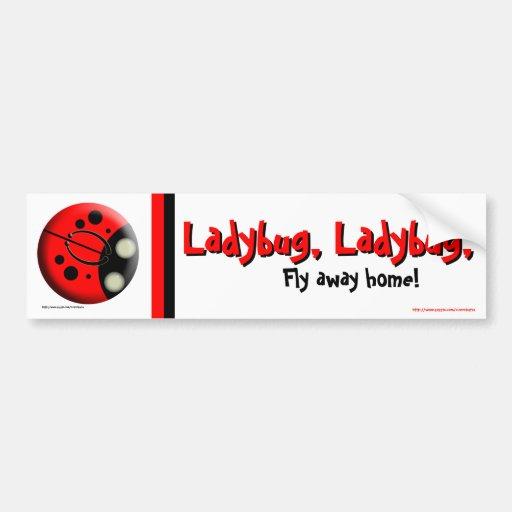 Ladybug, Ladybug Bumper Sticker