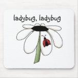 ladybug ladybug mousepads