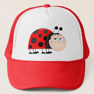 Ladybug Ladybugs Bug Bugs Funny Insect Cute Smile Trucker Hat