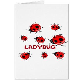 LADYBUG LANE GREETING CARD