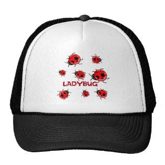 LADYBUG LANE MESH HATS