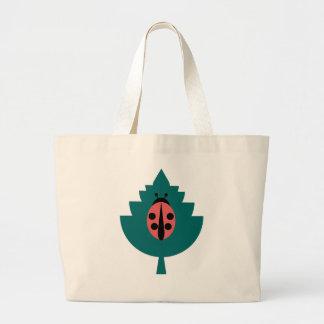 Ladybug Large Tote Bag