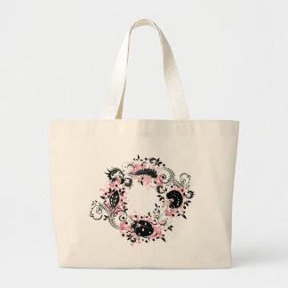 Ladybug Life Cycle Tote Bag - Pink