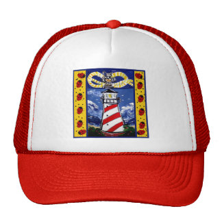 Ladybug Lighthouses Trucker Hat