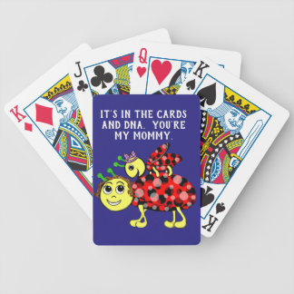 Ladybug Love Customize or add Text Bicycle Playing Cards