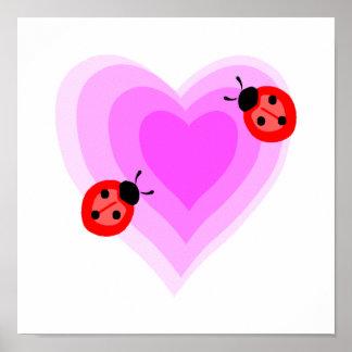 Ladybug Love Print
