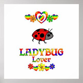 Ladybug Lover Poster