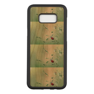 Ladybug Luck Custom Personalize Anniversaries Carved Samsung Galaxy S8+ Case